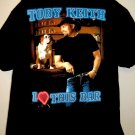TOBY KEITH I LOVE THIS BAR T-Shirt Size XL