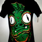 Circo Kid's T-Shirt New Spooky Fish Graphic Size Large