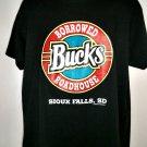 Borrowed Bucks Roadhouse T-Shirt Size XL Sioux Falls SD South Dakota Cool to be Country