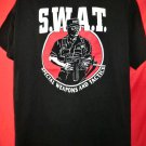 Vintage 1992 SWAT Special Weapons And Tactics T-Shirt Size Large