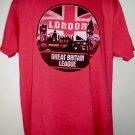 LONDON GREAT BRITAIN LEAGUE T-Shirt Size XL