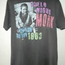 Rare Retro Thelonious Monk New York 1963 T-Shirt Size XL Jim Marshall