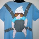 Movie Hangover ~ Baby Carrier T-Shirt Size XL