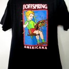 The OFFSPRING AMERICANA T-Shirt Size Medium / Large Punk Rock