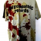 Camo Psychopathic Records T-Shirt Size XL ~ ICP