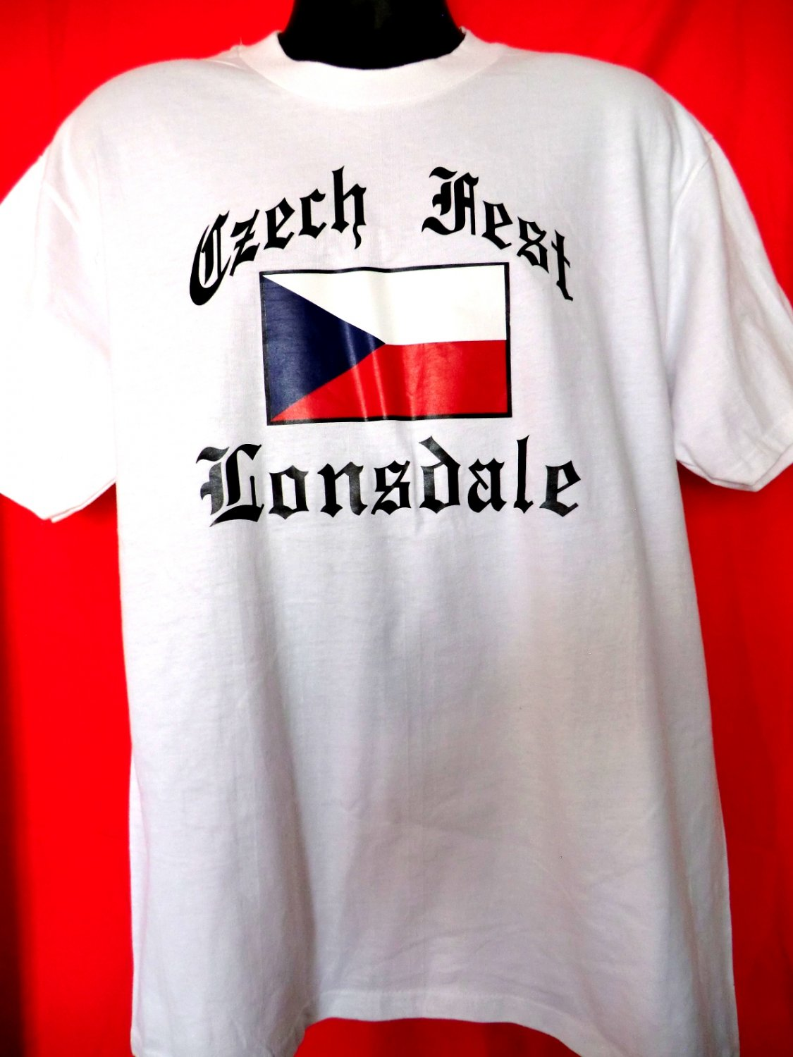 czech fest lonsdale t shirt size large xl. Black Bedroom Furniture Sets. Home Design Ideas