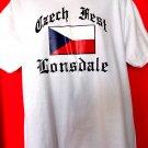 Czech Fest Lonsdale T-Shirt Size Large / XL