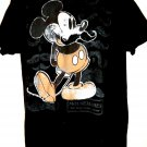 Funny Mickey Mouse T-Shirt Size Large MOUSETACHES Mustaches