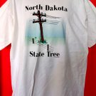 Funny 1992 T-Shirt ~ North Dakota State Tree ~ Size XL