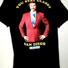 YOU STAY CLASSY SAN DIEGO ~ Anchorman Movie T-Shirt Size Large