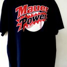 Rare MN TWINS Joe MAUER POWER Blue XXL T-Shirt ~ Minnesota