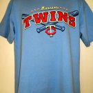 Cool Minnesota MN TWINS T-Shirt Size Large
