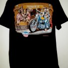 Rare Vintage 1994 EASY RIDER T-Shirt Size Large Bikers Paradise Palm Dessert California