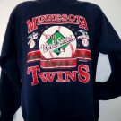 Vintage 1991 Minnesota Twins WORLD SERIES Champions Sweatshirt Size Large