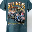 Cool Vintage STURGIS RALLY 1998  T-Shirt Size Large