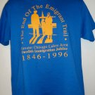 Swedish?! Immigration Large T-Shirt Chisago Minnesota MN ~  Immigration from Sweden Vintage 1996
