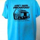 Vintage 1989 Don't Trash PINCHATOULY T-Shirt Size XL Star Screens