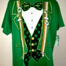 NEW Green St Patricks Day Luck Irish Shirt/ T-Shirt Size XL