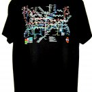 London UNDERGROUND Subway Map T-Shirt Size Large