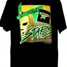 Vintage 1991 ~  Minnesota North Stars Large Black T-Shirt NHL Old School Hockey Team MN
