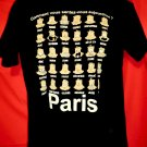 How are you feeling in French Paris T-Shirt Size Large France
