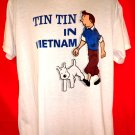 Tin Tin in Vietnam T-Shirt Size Large