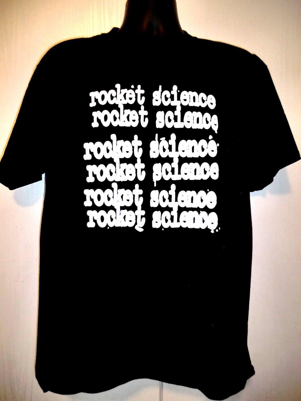 ROCKET SCIENCE T-Shirt Size Large