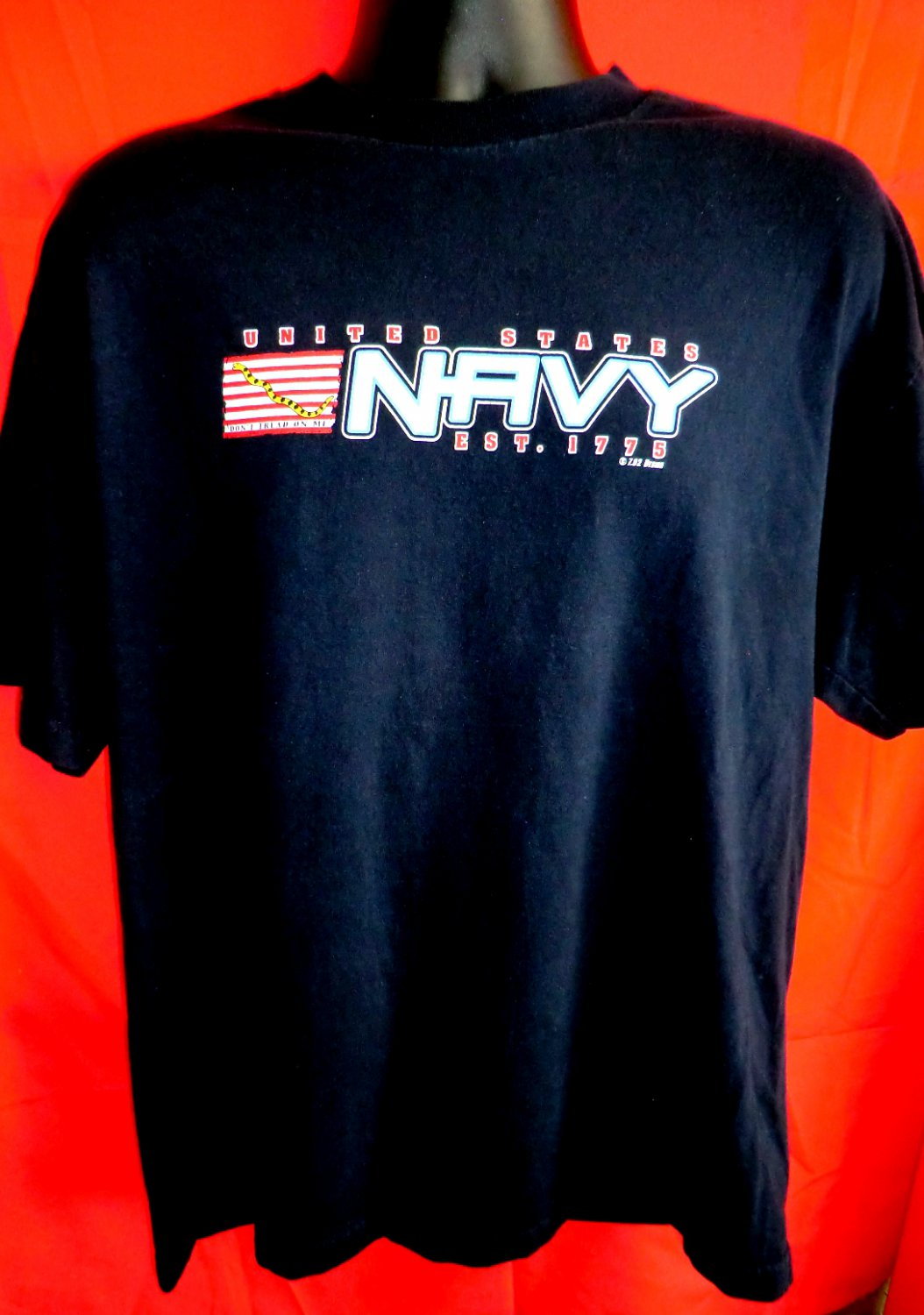US NAVY Don�t Tread On Me T-Shirt Size XL