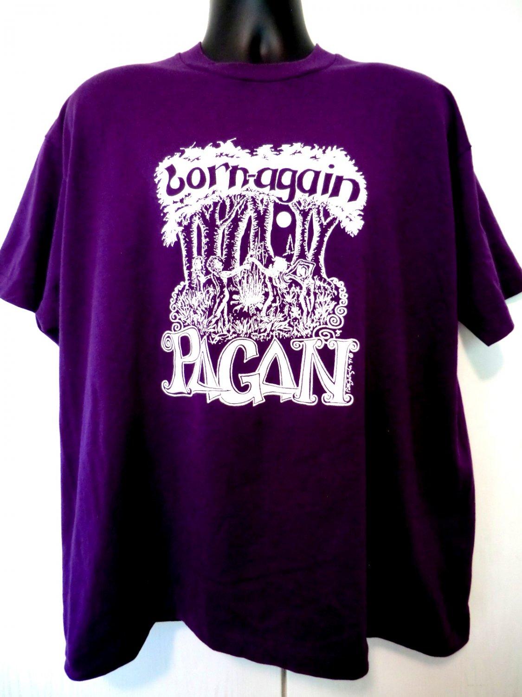 Vintage 1991 �Born again Pagan� T-Shirt Size XXL