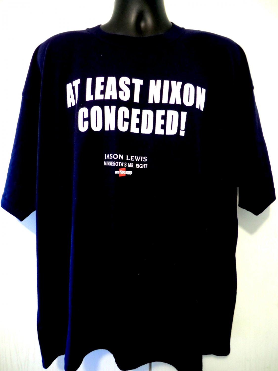 Jason Lewis T-Shirt ~ At Least Nixon Conceded! Size XXL NWT