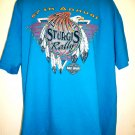 Sturgis 57th  Bike Rally 1997~ Turquoise XL or XXL T-Shirt