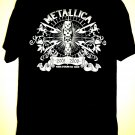 Metallica World Magnetic Tour T-Shirt Size Large