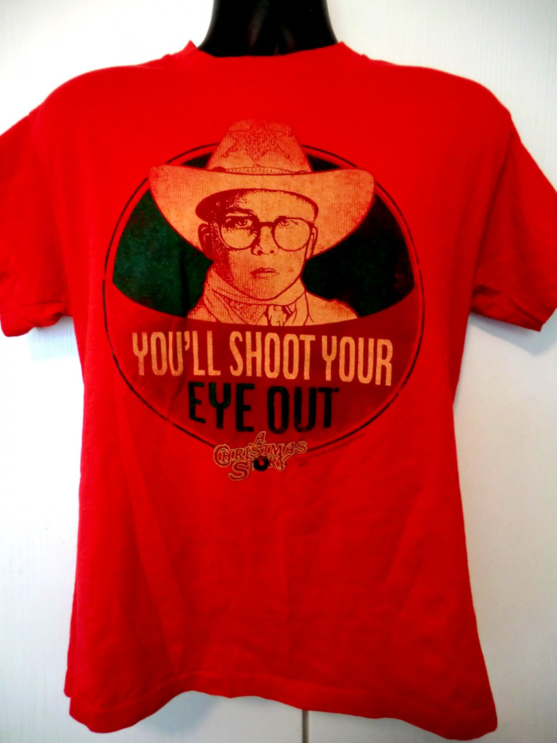SOLD! You'll Shoot Your Eye Out T-Shirt Size Medium A Christmas Story