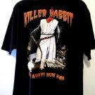 Rare Monty Python XL T-Shirt KILLER RABBIT Run Away!