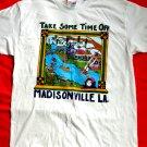 MADISONVILLE LA (Louisiana) Vintage 1995 T-Shirt Size Large