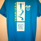 Vintage OLYMPICS 1992 T-Shirt Size Large TEAM USA