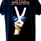Rare U.S. VS JOHN LENNON T-Shirt National Threat Size Large War Is Over