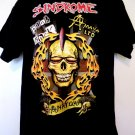 SINDROME Punk Rock Amaya Ltd T-Shirt Size Large
