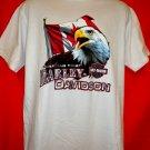 Harley Davidson Canada Dealer T-Shirt Size Large Thunder Bay Ontario Canada