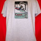 Love to Canoe?! Here is your T-Shirt Size Large Minnesota Wisconsin