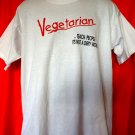 Funny Vegetarian T-Shirt Size XL  Teach People It's Not A Dirty Word