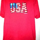 USA 2013 T-Shirt Size XL American Flag