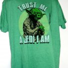 "New Star Wars YODA T-Shirt Size XL ""Trust Me A Jedi I Am"" NWT"