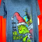 NEW! You're A Mean One Mr. Grinch T-Shirt Size XL Dr Seuss
