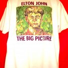 Elton John The BIG PICTURE 1997 Tour T-Shirt Size XL