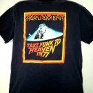 Vintage 1977 Parliament-Funkadelic T-Shirt Size Large Take Funk To Heaven in 77