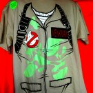 Ghostbusters Costume T-Shirt Size XL Glows in Dark NEW