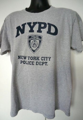 New York City Police Department T-Shirt Size Large NYPD