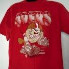 Vintage 1994 San Francisco 49ers T-Shirt Size Large Taz