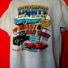 Northern Lights Pig Roast Car Show 2009 Hugo Minnesota MN T-Shirt Size XL